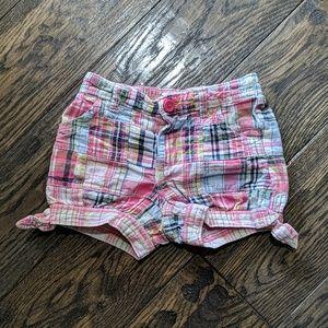 Baby Gap Plaid Shorts